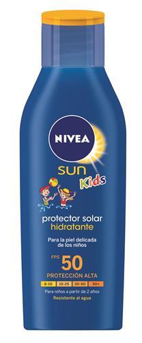 Foto PROTECTOR SOLAR HIDRATANTE 200ML FPS 50 NIVEA SUN KIDS FRASCO  de