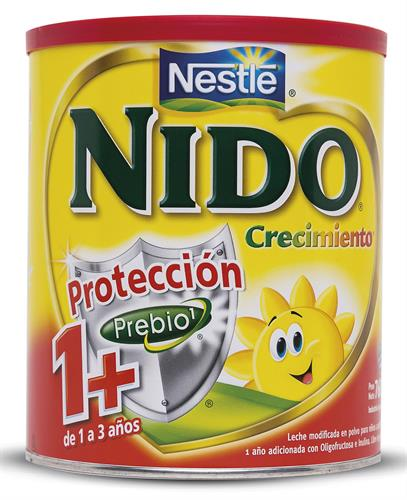 Foto LECHE POLVO NIDO CRECIMIENTO 1+ 760 GR de