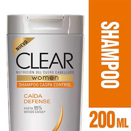 Foto SHAMPOO CAIDA DEFENSE 200ML CLEAR PLAS de