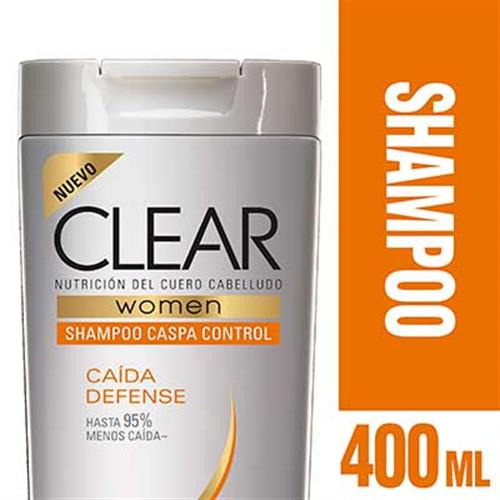 Foto SHAMPOO CAIDA DEFENSE 400ML CLEAR PLAS de