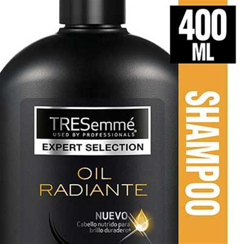 Foto SHAMPOO OIL RADIANTE 400ML TRESEMME FRASCO de