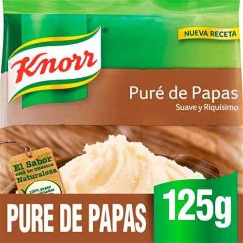 Foto PURE DE PAPAS INSTANTANEO 12X125GR KNORR BSA de