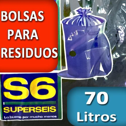Foto BOLSA SUPERSEIS PARA RESIDUO ECON.70 LT de