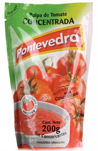 Foto PULPA DE TOMATE PONTEVEDRA DOY 200 GR de