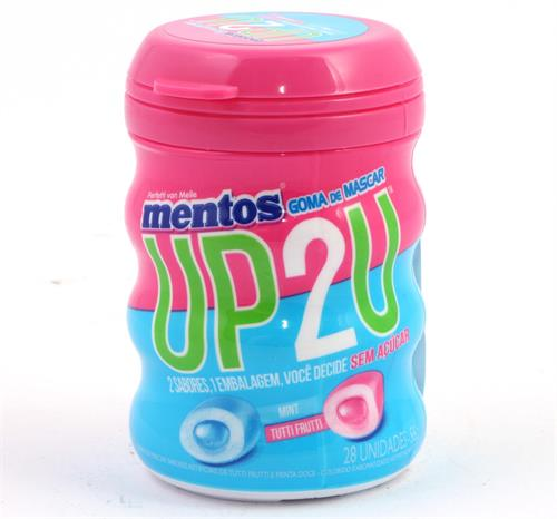 Foto CHICLES UP2U 56 GR MENTOS POT de