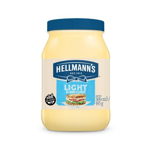 Foto MAYONESA LIGHT 495 GR HELLMANNS FRASCO  de