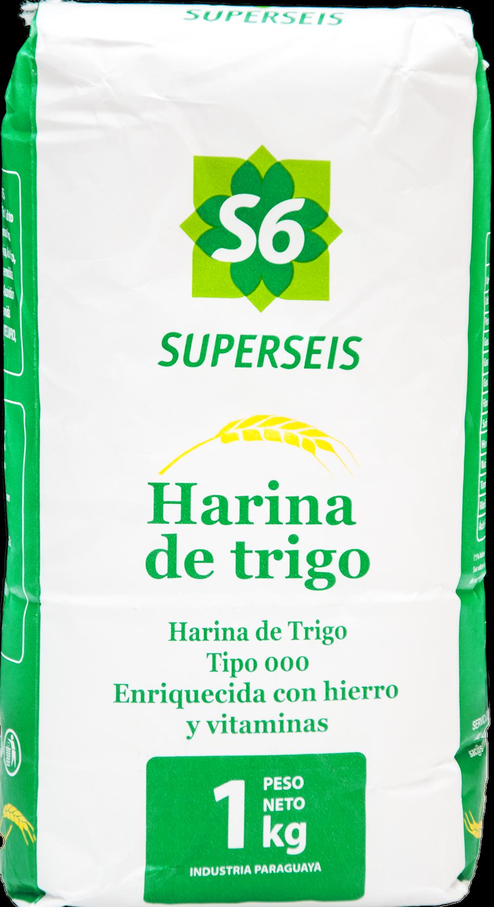 HARINA DE TRIGO SUPERSEIS 1KG