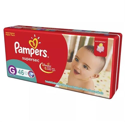 Foto PAÑAL SUPERSEC G 46UND PAMPERS PAQ de