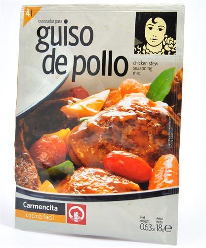 Foto SAZONADOR DE GUISO DE POLLO 18GR CARMENCITA SOB de