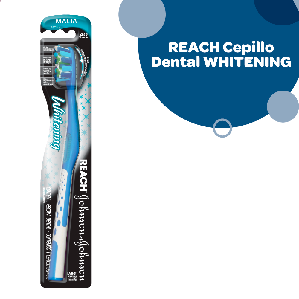 CEPILLO DENTAL REACH WHITENING SUAVE