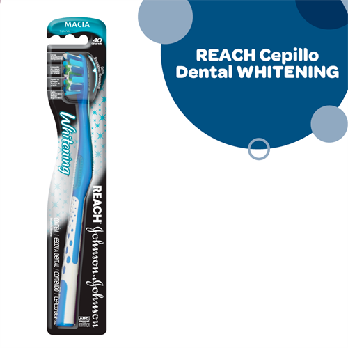 Foto CEPILLO DENTAL REACH WHITENING SUAVE de