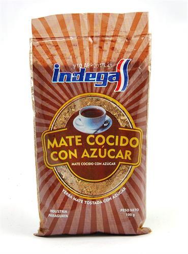 Foto MATE COCIDO CON AZCAR 100 GR INDEGA BSA de