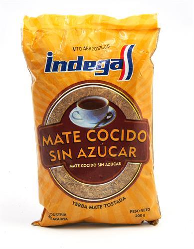 Foto MATE COCIDO SIN AZUCAR 200 GR INDEGA BSA de