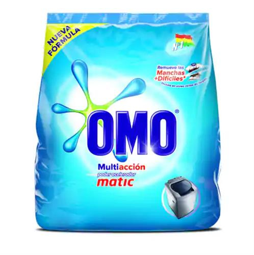 Foto DETERGENTE EN POLVO MATIC PROGRESS 800GR OMO BSA  de
