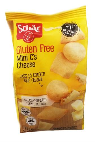 Foto SNACKS DE QUESO SIN GLUTEN CHESSE BITE 125GR SCHAR BSA  de