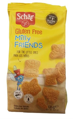 Foto GALLETITAS PARA NIÑOS MILLY FRIENDS 125 GR SCHAR PLA de
