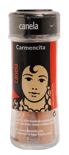 Foto CANELA EN RAMA CARMENCITA FRASCO 18GR de