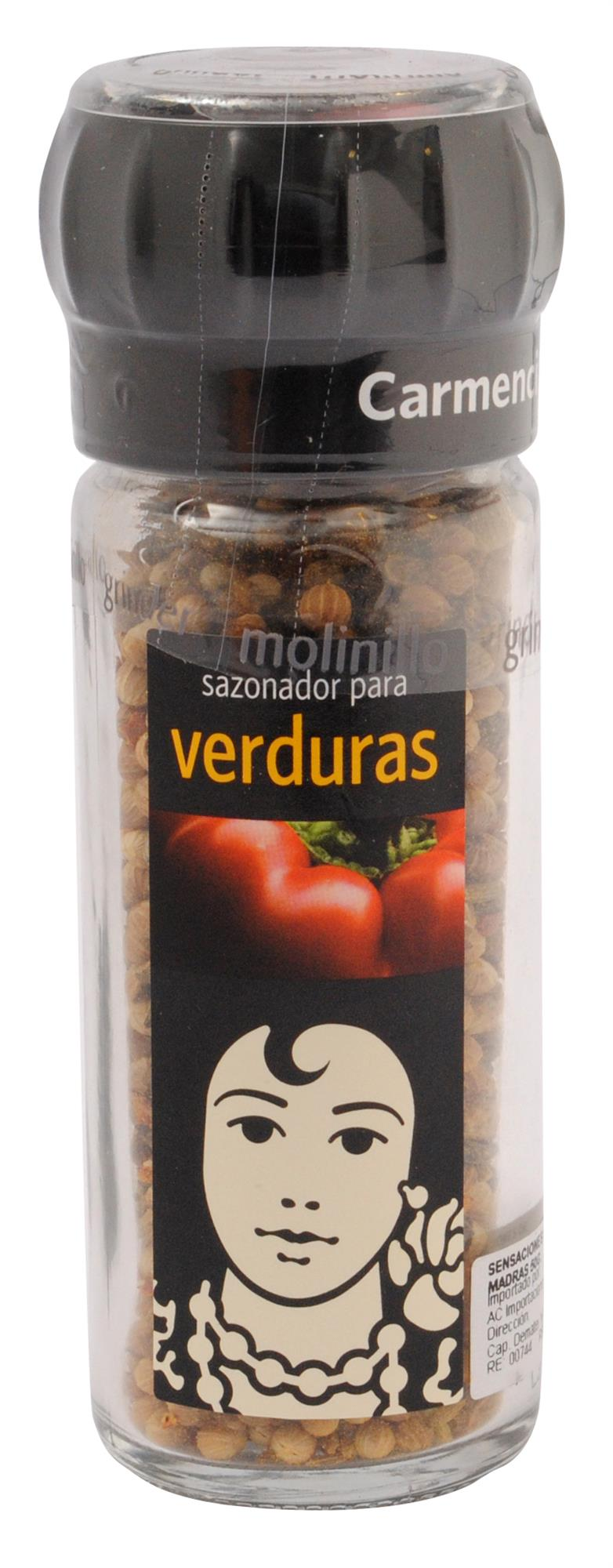 SAZONADOR PARA VERDURAS CARMENCITA FRASCO 48 GR