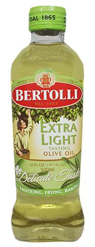 Foto ACEITE DE OLIVA EXTRA LIGHT 500ML BERTOLLI BOT de
