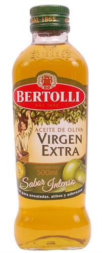 Foto ACEITE DE OLIVA EXTRAVIRGEN 500ML BERTOLLI BOT de