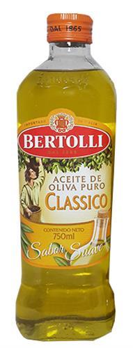 Foto ACEITE DE OLIVA CLASICO 750ML BERTOLLI BOT de