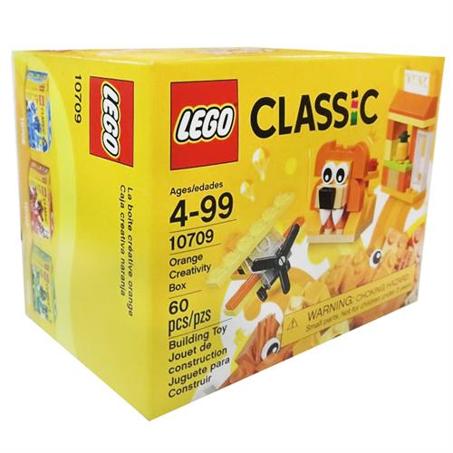 Foto JGO P/ ARMAR ORANGE CREATIVITY BOX LEGO REF 10709 CJA  de