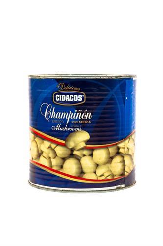 Foto CHAMPIGNON ENTERO CIDACOS DE PIMERA EN CONSERVA LATA 2.5KG de