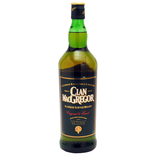 Foto WHISKY CLAN MAC GREGOR BOTELLA 1 L de
