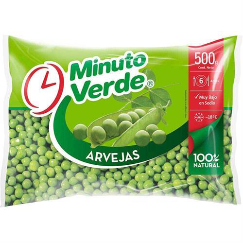 Foto ARVEJA MINUTO VERDE 500 GR de