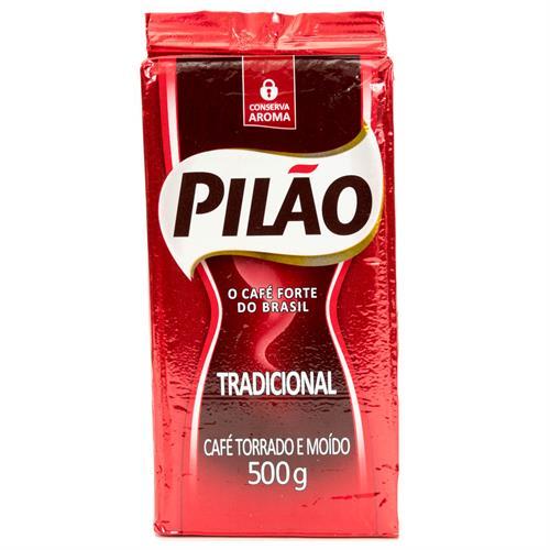 Foto CAFE MOLIDO TRADICIONAL 500GR PILAO PAQUETE  de