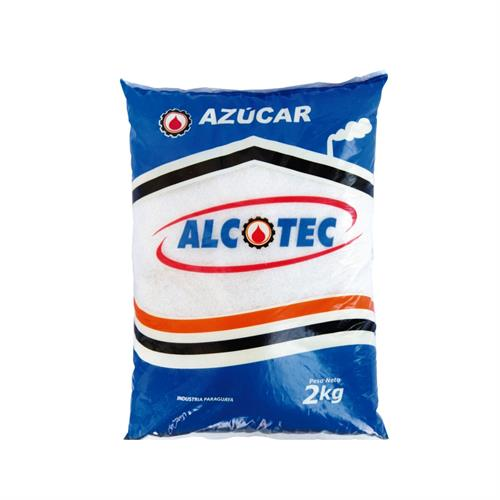 Foto AZUCAR BLANCA 2KG ALCOTEC PAQUETE  de