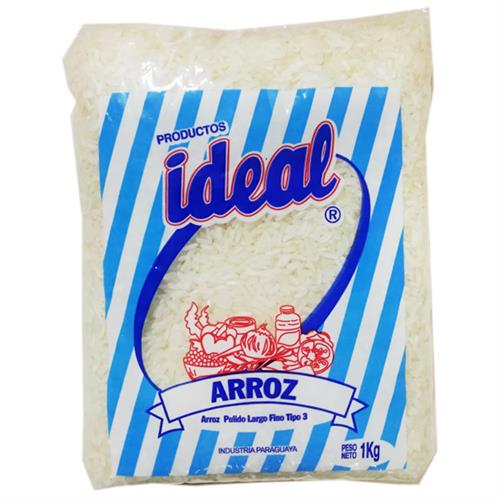 Foto ARROZ IDEAL BOLSA 1 KG. de