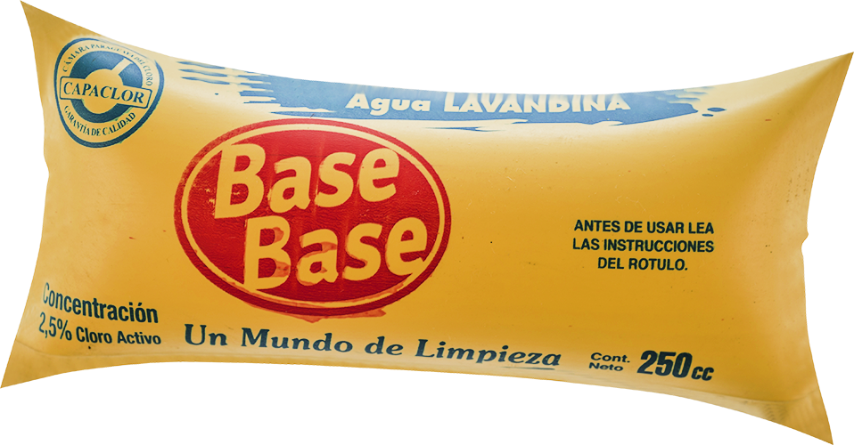 LAVANDINA BASE BASE SACHET 250 CC