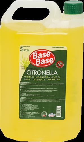 Foto DESODORANTE BACTERICIDA CITRONELLA 5LT BASE BASE BID de