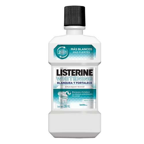 Foto ENJUAGUE BUCAL LISTERINE WHITENING 2 EN 1 236ML de
