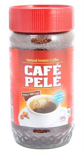 Foto CAFE NATURAL INSTANTANEO 200GR PELE FRASCO  de