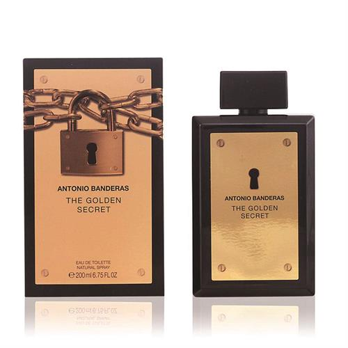 Foto PERFUME THE GOLDEN SECRET 200ML ANTONIO BANDERAS CAJA  de