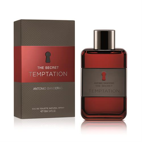 Foto PERFUME ANTONIO BANDERAS THE SECRET TEMPTATION EDT 100ML CJA de