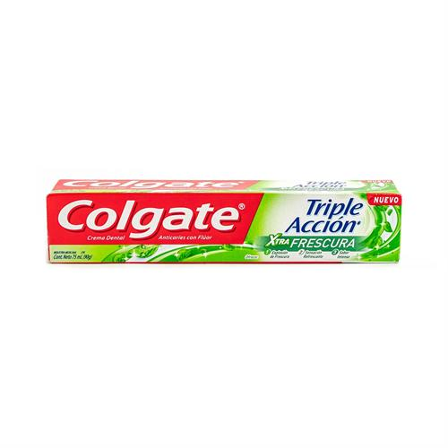 Foto CREMA DENTAL TRIPLE ACCION XTRA FRESH COLGATE 90GR CJA de
