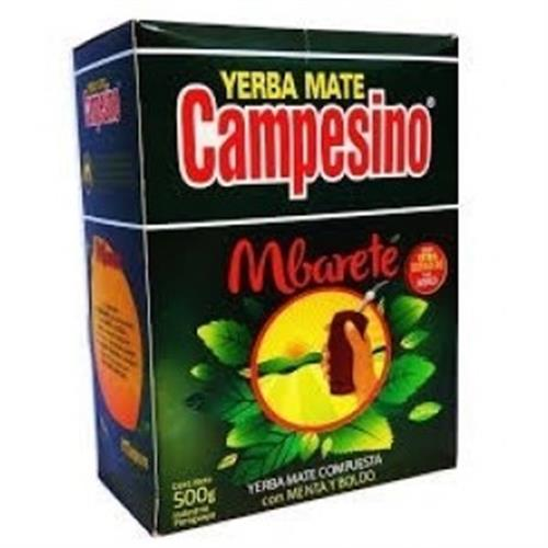 Foto YERBA MATE CAMPESINO MBARETE 500GR  de