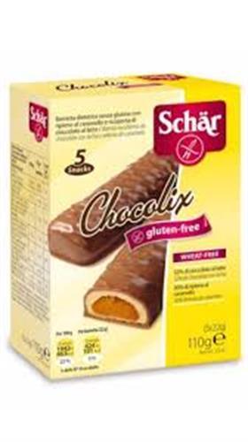 Foto BARRITAS DE CHOCOLATE SIN GLUTEN CHOCOLIX 110GR SCHAR CJA de