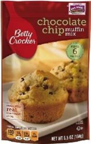 Foto MEZCLA MUFFIN MIX CHOC CHIP 184 GR BETTY CROCKER PLAS de