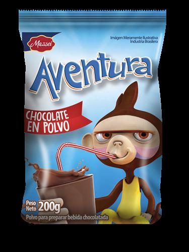Foto CHOCOLATE EN POLVO MAZZEI AVENTURA BSA 200 GR  de