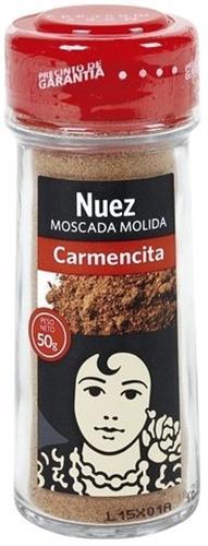 Foto NUEZ MOSCADA MOLIDA CARMENCITA 50 GR de
