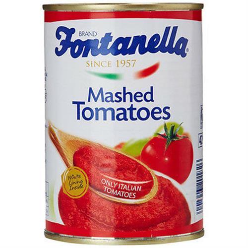 Foto PURE DE TOMATE MASHED TOMATOES 390GR FONTANELLA LAT de