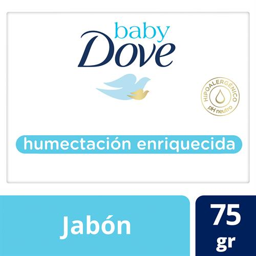 Foto JABON TOCADOR BABY HUMECTACION ENRIQUECIDA 75G DOVE CJA  de
