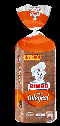 Foto PAN INTEGRAL BIMBO 420GR BSA de