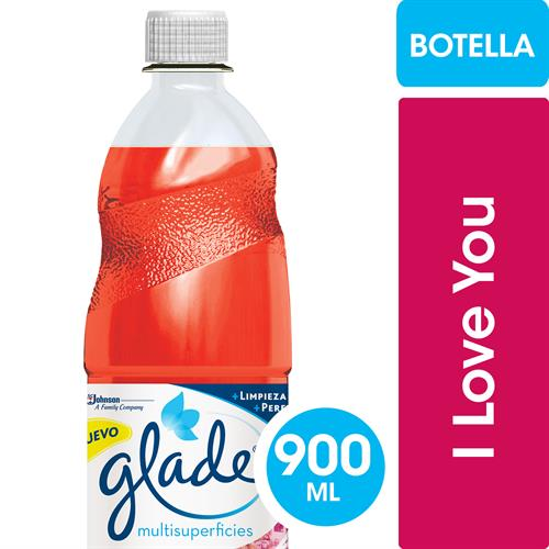 Foto LIMPIADOR LIQ I LOVE YOU GLADE 900ML MR MUSCULO BOT de