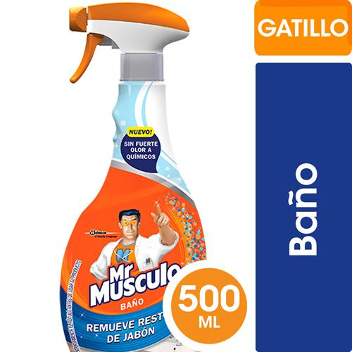 Foto LIMPIADOR TOTAL BAÑO 500ML MR MUSCULO GATILLO de