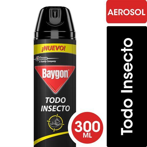 Foto INSECTICIDA PARA TODO INSECTO 300ML BAYGON AER de